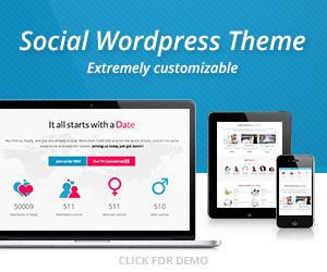 Wordpress Dating Theme